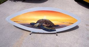 Ocean Art Surfboard for Sale in Roseville, CA