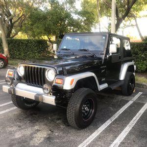 1998 Jeep Wrangler for Sale in Miami, FL