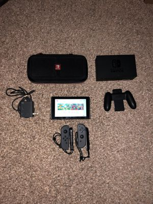 Nintendo Switch v2 w/ Games and Accessories for Sale in Katy, TX
