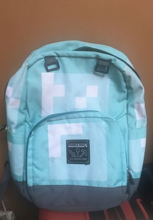 Minecraft Diamond Armor Bookbag for Sale in Brooklyn, NY
