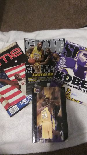 Kobe Bryant Kobe Bryant Kobe Bryant magazines! 2008, 2009, and 2006 for Sale in Los Angeles, CA
