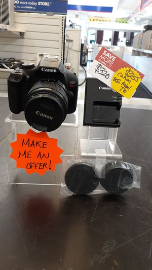Canon EOS Rebel T6 AS 080220 for Sale in Chicago, IL