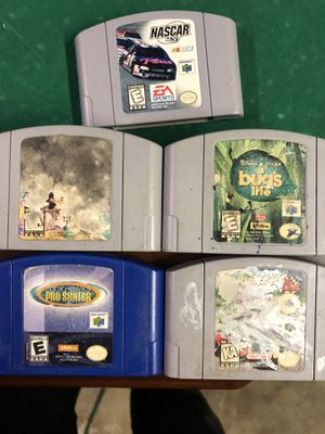 Nintendo 64 games for Sale in West Carson, CA