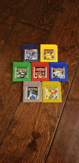 Pokemon nintendo gameboy color games for Sale in Westminster, CA