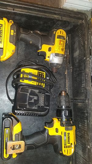 Impact drill and driver set with charger and both batteries for Sale in Houston, TX