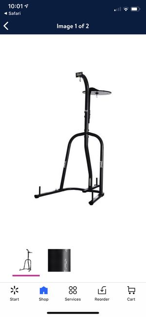 Punching bag stand with bags, gloves, and pads for Sale in BETHEL, WA