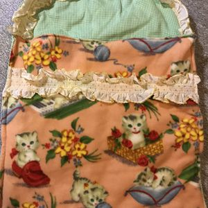 Super Cute Homemade Kitten Baby Doll Bed 21 By 15in for Sale in Elma, WA