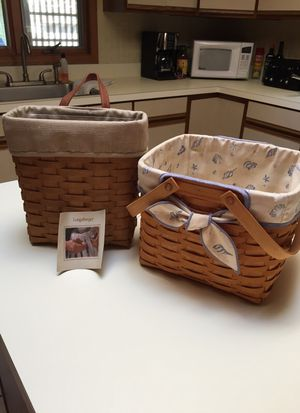 Longaberger Baskets for Sale in Lacey Township, NJ