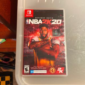 NBA 2k20 Nintendo Switch Game for Sale in Fort Worth, TX