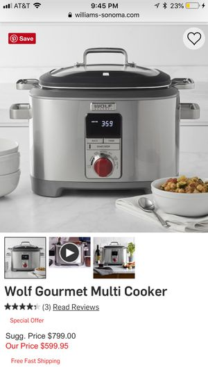 Wolf Multi Cooker for Sale in Chicago, IL