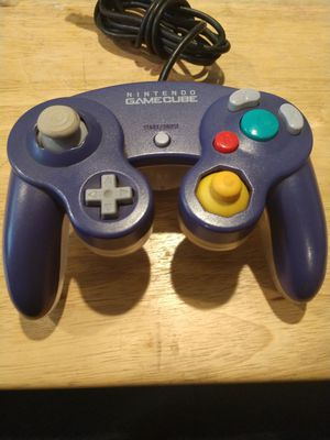 Nintendo Gamecube Controller Purple/Clear for Sale in Vancouver, WA