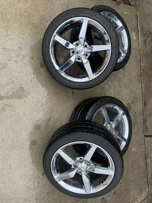 C7 Chevy corvette wheels rines yantas for Sale in Houston, TX