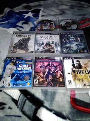 PS3 GAMES ALL 8 FOR $25! PICK UP ONLY! for Sale in Phoenix, AZ