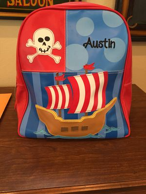 """Austin"" pirate themed backpack for Sale in Mission Viejo, CA"