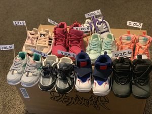 Nike, Air Jordan, New Balance, Adidas, Timberland, Converse Toddler Shoes Sizes (4c-6c) for Sale in Washington, DC