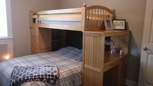 Bunk bed with dresser for Sale in Snohomish, WA
