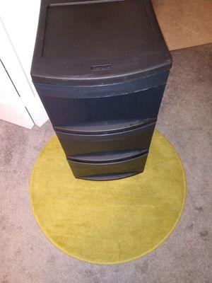 Plastic storage 3 drawers for Sale in Alexandria, VA