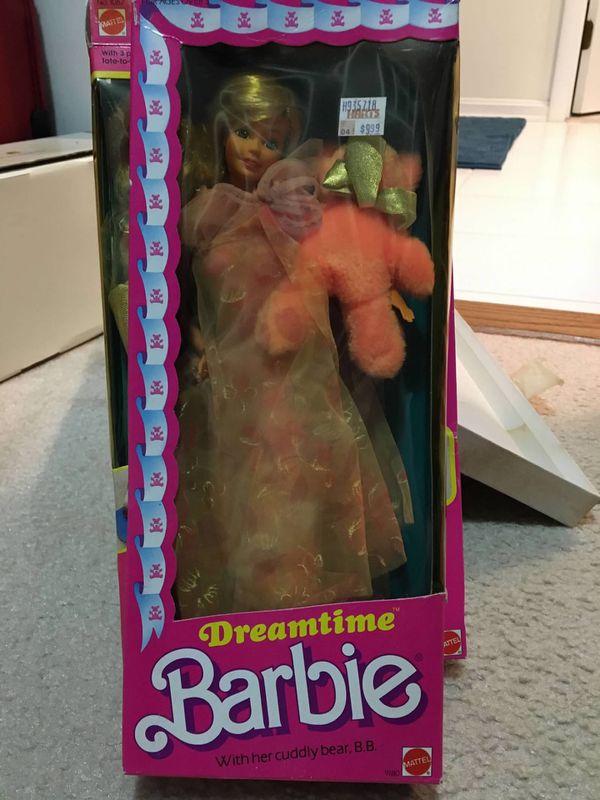 Dreamtime Barbie with Bear B.B. 1984 Doll