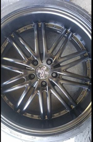 *Only 2 * All black alloy 20inch Rims for Sale in Las Vegas, NV