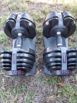 Bowflex dumbbells 552 for Sale in Pico Rivera, CA