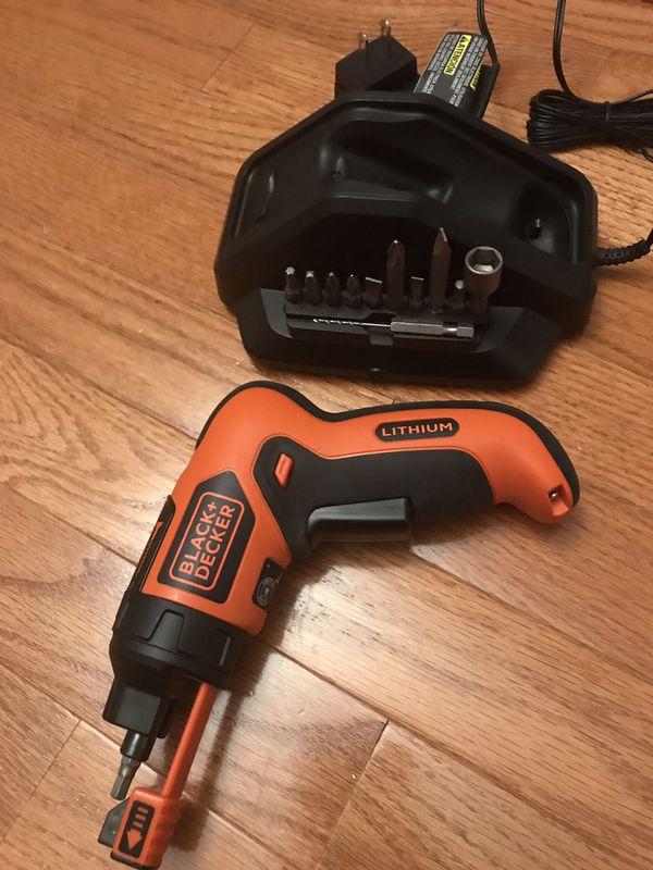 Black and decker screwdriver set