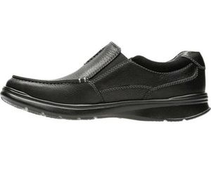 Clark's cotrell free black oily leather shoes size 13 men for Sale in Whittier, CA