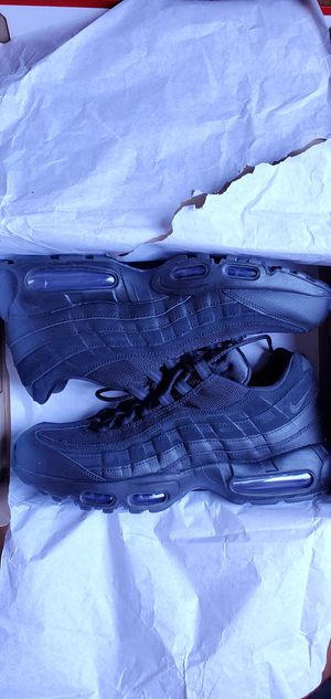 Nike Air Max 95 Essential Triple Black Men's Size US 10.5 for Sale in Los Angeles, CA