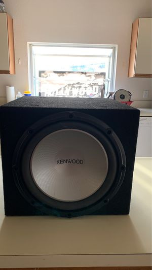 Kenwood 12in Subwoofer for Sale in Long Beach, CA