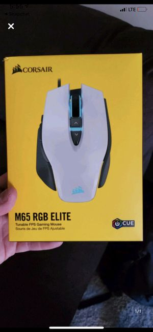 Corsair M65 RGB Elite Gaming Mouse for Sale in Coralville, IA