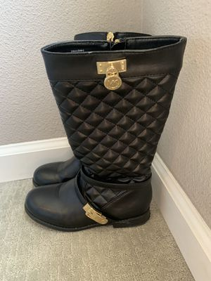Michael Kor Black Boots size 1 for Sale in Palm Desert, CA