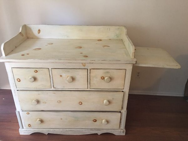 Antique baby dresser and changing table