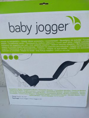 ( NEW )Baby Jogger 1967207 Car Seat Adapter Single for Chicco and Peg-Perego for Sale in Kingsburg, CA