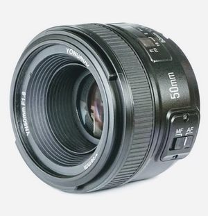 YONGNUO YN50mm F 1.8N FOR NIKON + Accessories for Sale in Silver Spring, MD