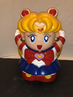 Vintage Sailor Moon Dragon Ball Coin Bank Rare for Sale in Miami, FL