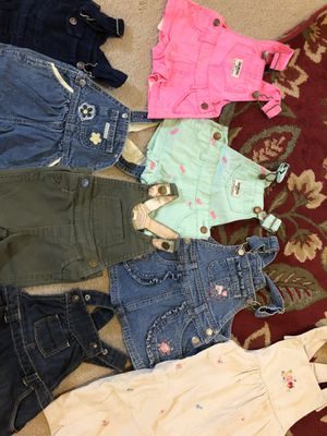 overall for baby girl for Sale in Spring, TX