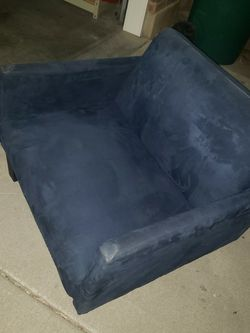 Recliner Blue Sofa for Sale in Eagle Mountain,  UT
