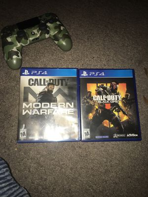 Call of Duty PS4 game's for Sale in Long Beach, CA