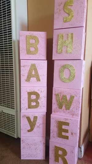 Declarations for baby shower for Sale in San Diego, CA