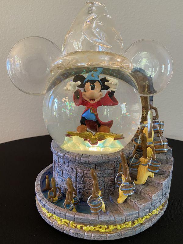 Disney Snow Globe The Sorcerer's Apprentice