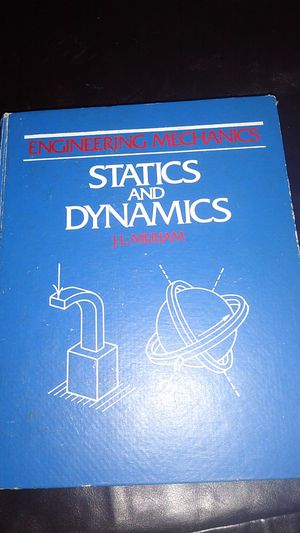 STATICS AND DYNAMICS TEXTBOOK for Sale in KINGSVL NAVAL, TX