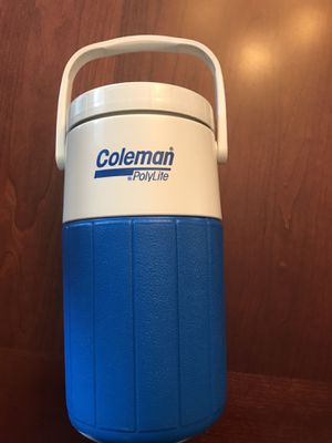 Coleman 5590 1/2 Gallon Wide Mouth Cooler with Flip Spout for Sale in Seal Beach, CA