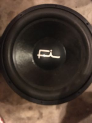 Multiple car audio subwoofers Fi, Ascendant, Elemental Designs, Audiobahn, and more for Sale in Columbus, OH