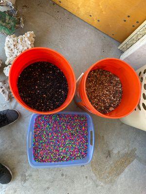Fish tank rocks for Sale in Bakersfield, CA