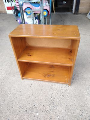 Solid wood bookshelf for Sale in Philadelphia, PA