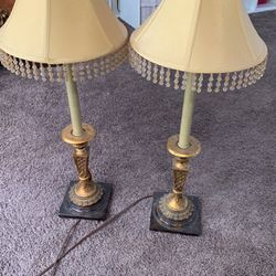 Brown Antique Lamps for Sale in Huntington Beach,  CA