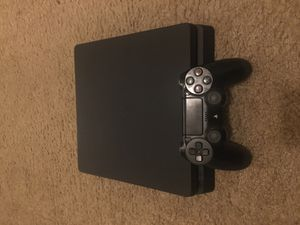 PlayStation 4-1Tb Jet Black- With DualShock 4 Controller HDMI cable-Power Cable, and Controller Cable for Sale in Baltimore, MD