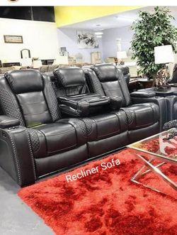 İn STOCK Moda Trend Power LED Reclining Sofa U1 for Sale in Alexandria,  VA