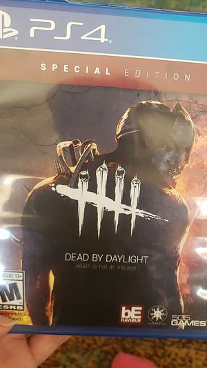 Dead by daylight ps4 game. Played only twice. for Sale in Las Vegas, NV