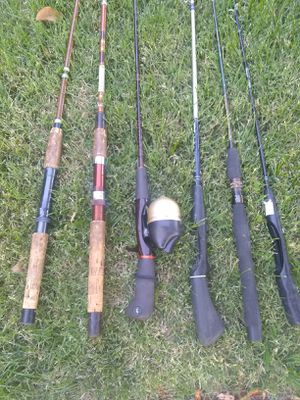 FISHING POLES $5-$20 EAch for Sale in Modesto, CA