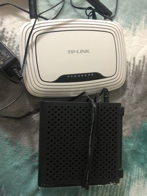 Arris Surfboard SB6183 Modem and TpLink Router for sale! for Sale in San Diego, CA